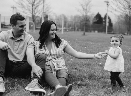 Cora, Kate & Josh - 5.5.2019 Family Portraits, First Birthday, Skaneateles, NY