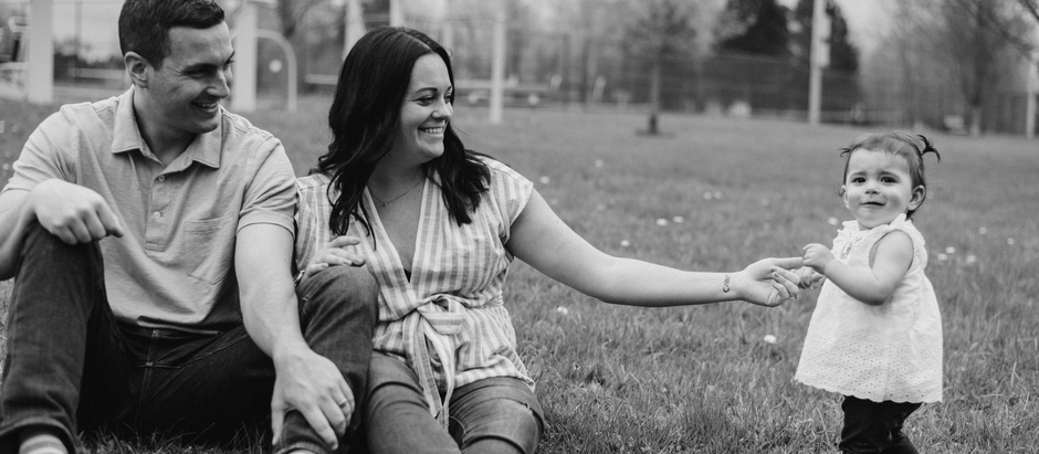 Cora, Kate & Josh - 5.5.2019 Family Portraits, First Birthday, Skaneateles, NY