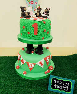 Birthday Cake Bears