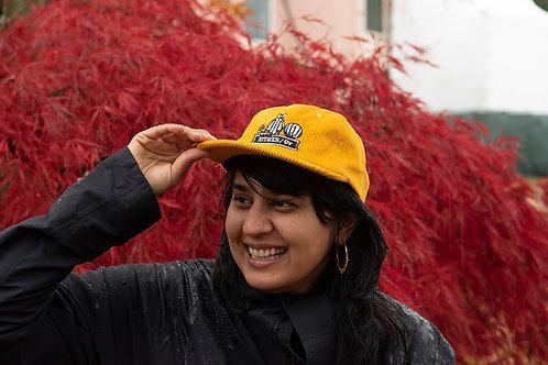 Yellow Corduroy Hat