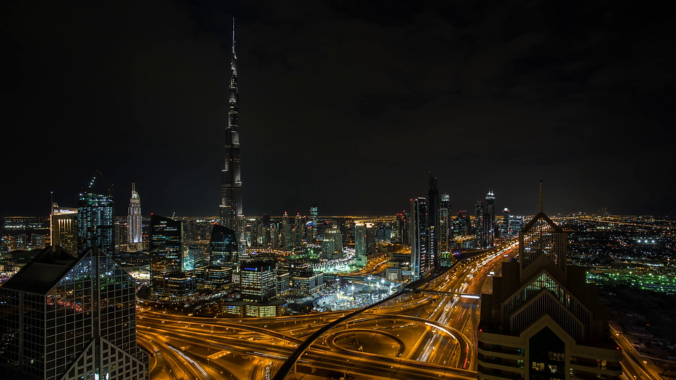 the-burj-khalifa-dubai-elevated-view-across-sheikh-zayed-road-and-financial-centre-road-interchange-