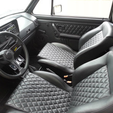 Intérieur Golf 1 cab
