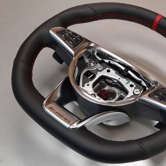 Volant cuir A45 AMG Mercedes