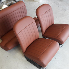 Intérieur cuir brun Autobianci