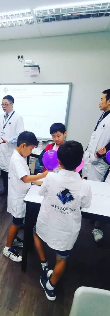 MetaQuest Science