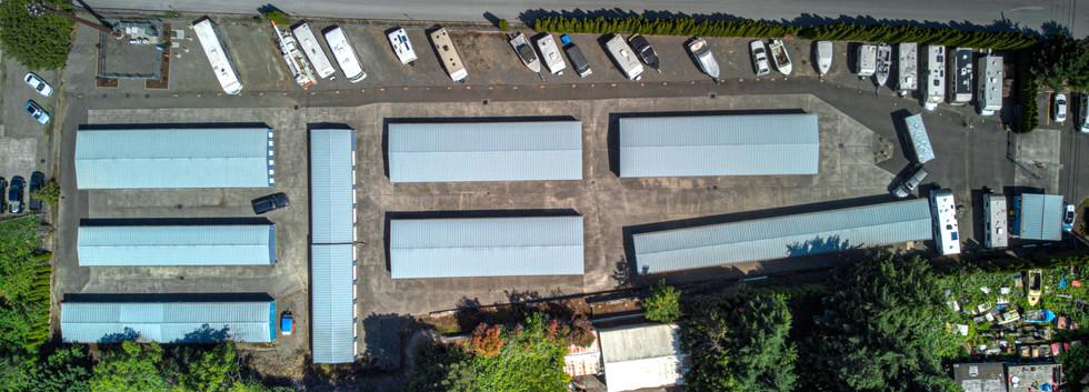 Wood Village Stow-A-Way Mini Storage aerial