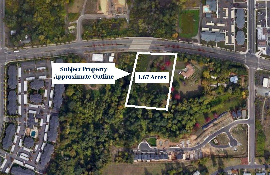 Sunnyside aerial pic labeled - parcel ou