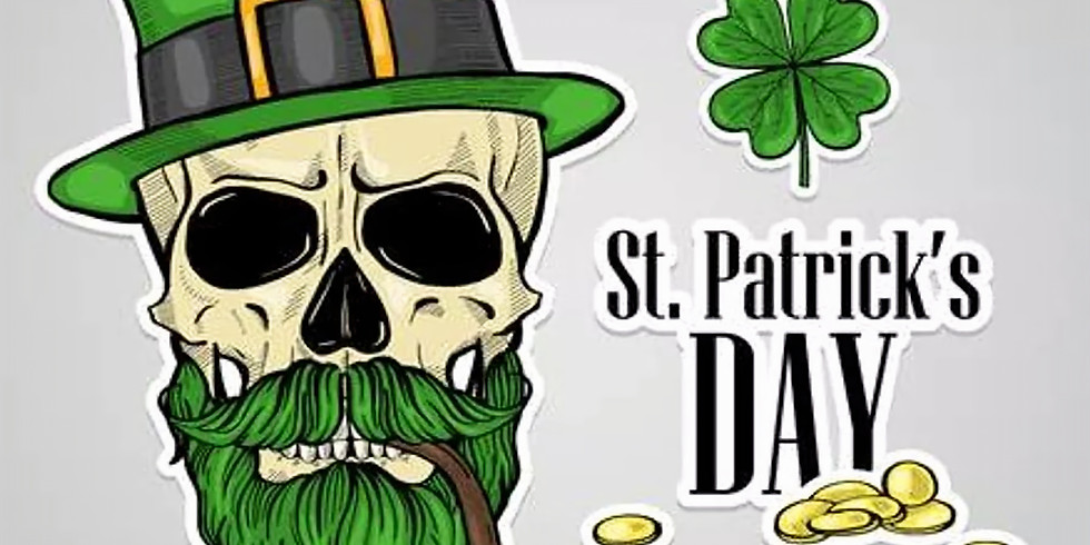 St Patrick's Day party at Whiskey