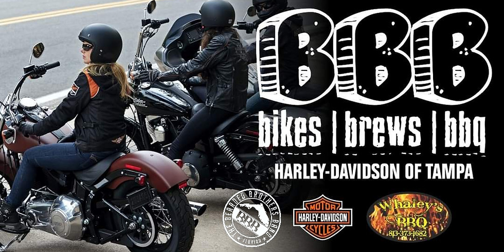 Beers, Bikes, BBQ & Beards