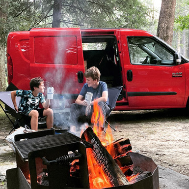 Campfire stories with a Cascade compact campervan