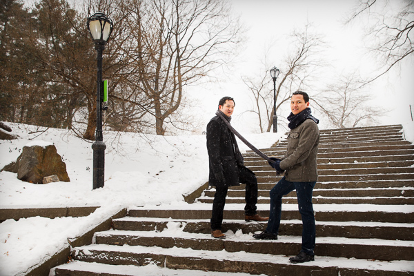 Gay Engagement Photographer NYC
