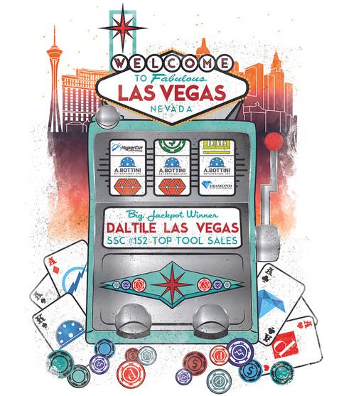 Daltile Las Vegas T Shirt Design