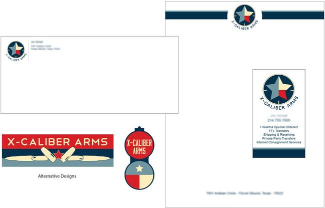 X-Caliber Arms Branding