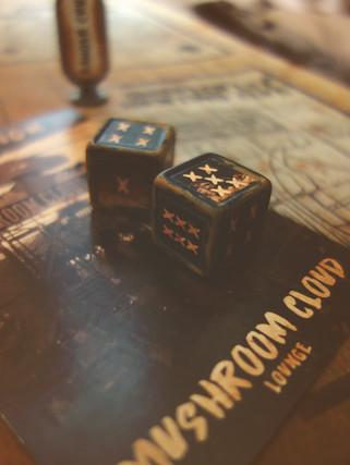 WASTELAND CLUE BOARD GAME