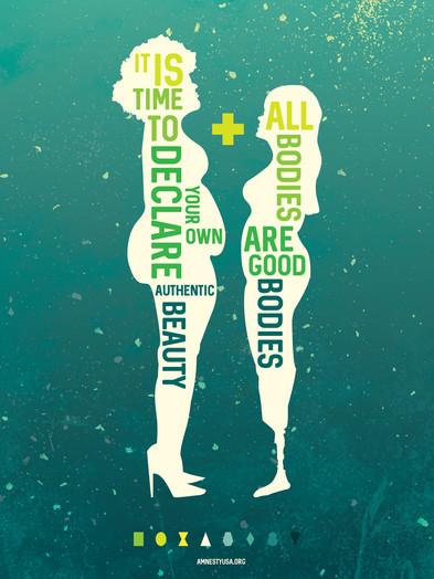 Body Positivity Poster