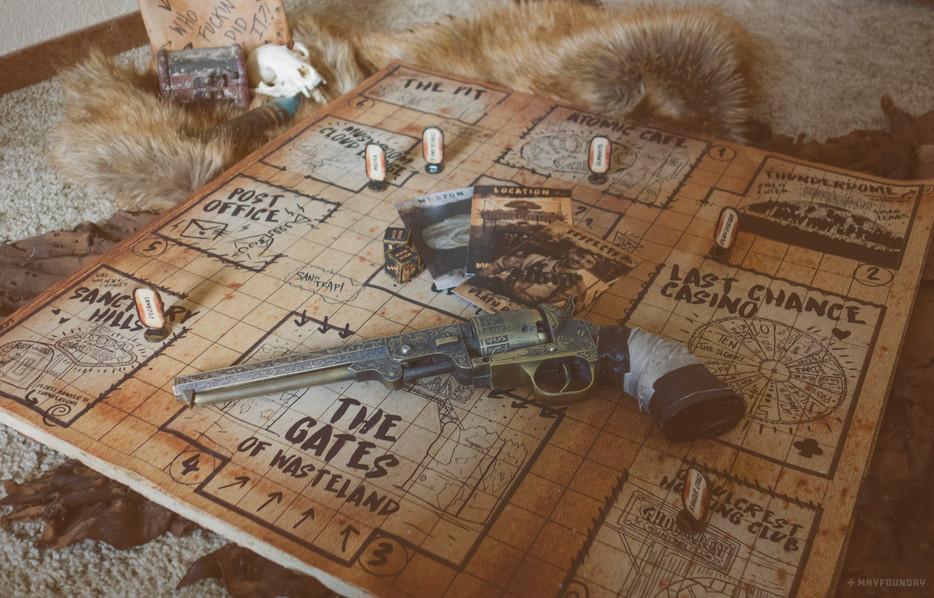 Wasteland Clue Board