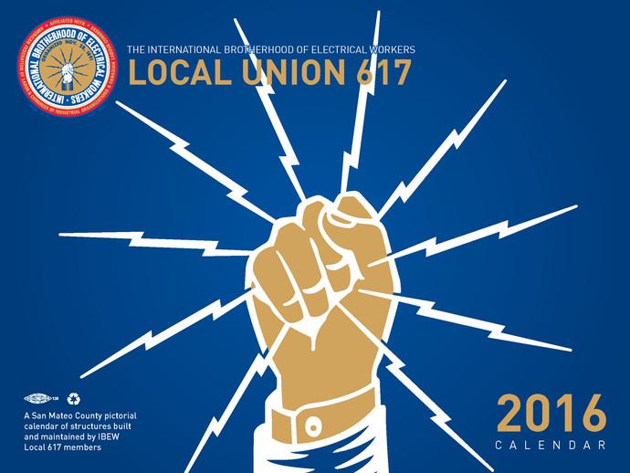 Local Union 617 Calendar