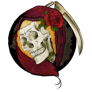 Santa Muerte Illustration