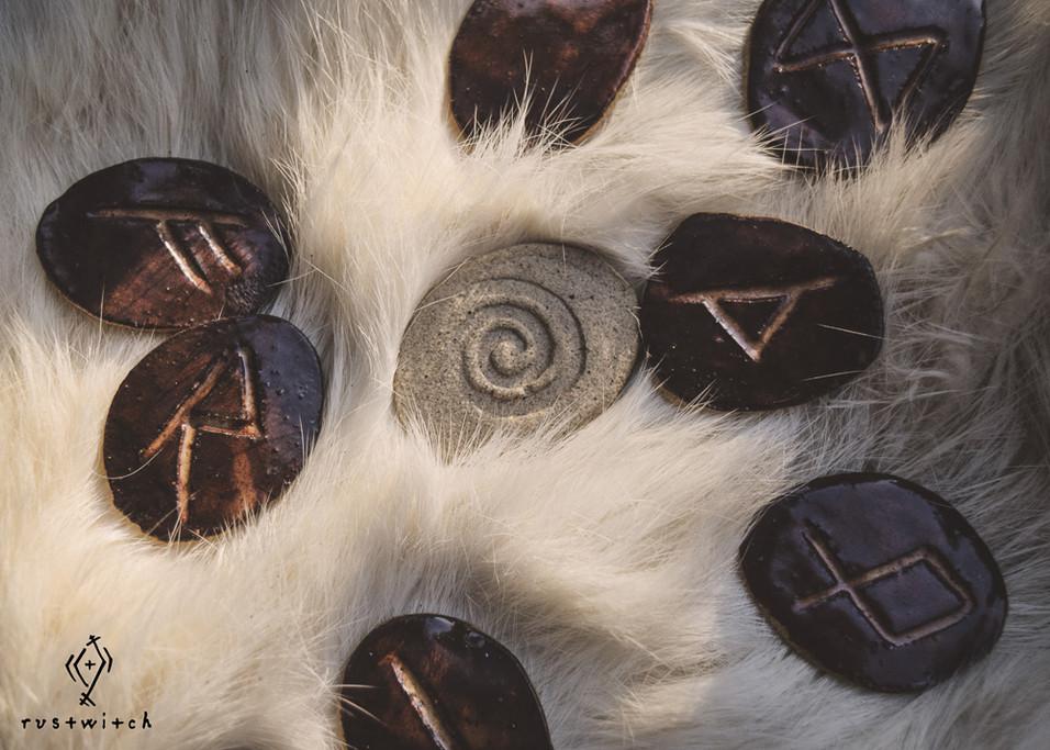 Ceramic Rustrunes
