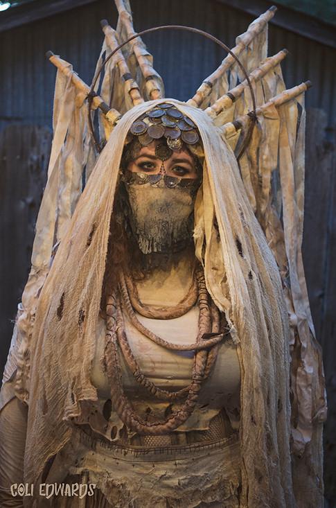 Saint of Smoke Headdress