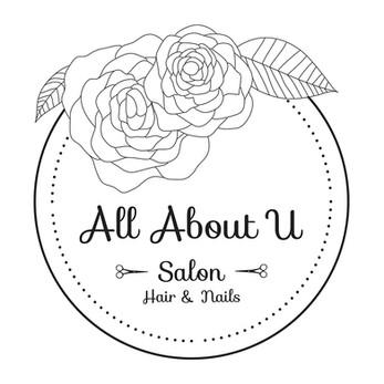 All About U Saloon Logo