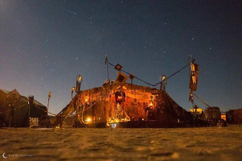 The Hovel at Night
