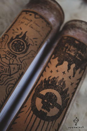 Cult of V8 + Cult of Combustion Prayer Candles