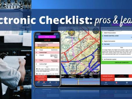 ELECTRONIC/DIGITAL CHECKLISTS