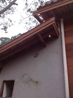 Detalhe: telhado e dutos