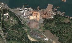 Harmac Pacific Pulp Mill, Nanaimo British Columbia