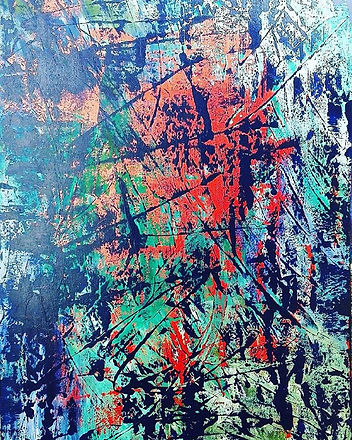 Wild Emotion__#abstractart #abstraktekun