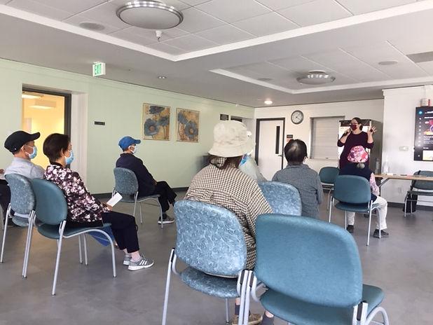 Seminar at Nihonmachi Terrace in SF Japantown