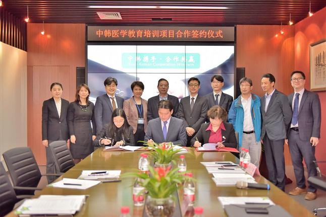 ㈜헬스브리즈와 중국 북경대학의학부·의대시대교육(MEDTIME), 의학교육용 애니메이션 공급 및 중국 공동사업 계약 체결