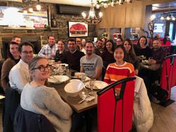 Christmas lunch 2019 Masson-Poirier