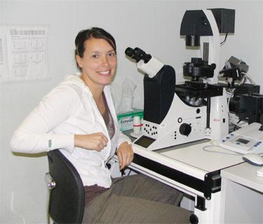 Amélie au microscope
