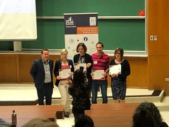Thibaut wins best poster presentation (and 1000$) at the Journée de la recherche 2019 du CHU de Québ