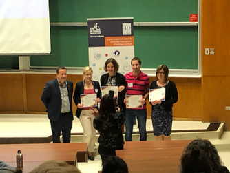 Thibaut wins best poster presentation (and 1000$) at the Journée de la recherche 2019 du CHU de Québ