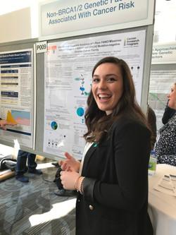 Caitlin Fierheller visits the lab