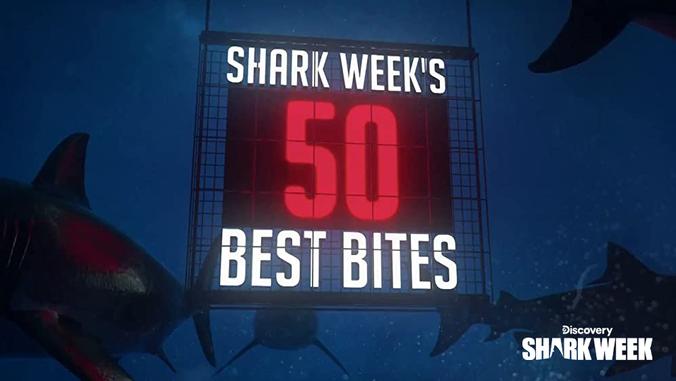 SHARK WEEK'S 50 BEST BITES   Discovery