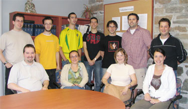 Photo du lab Juin 2006