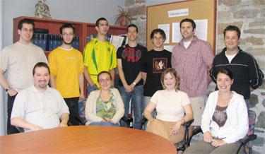 Photo du lab Juin 2006