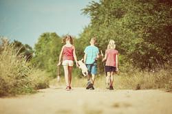 Kinderen erop uit bij Hoeve Hogeslag
