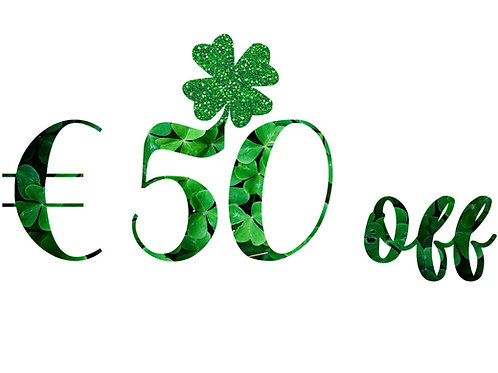 €50 Off any photoshoot booked before 25th March 2019