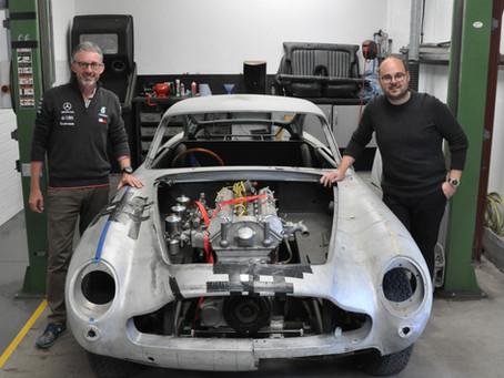 New Aston Martin DB5 restoration begins