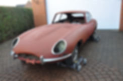 1962 Jaguar E-Type Series 1 3.8 litre Project For Sale