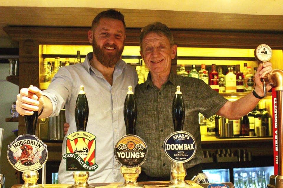 Gareth and Simon