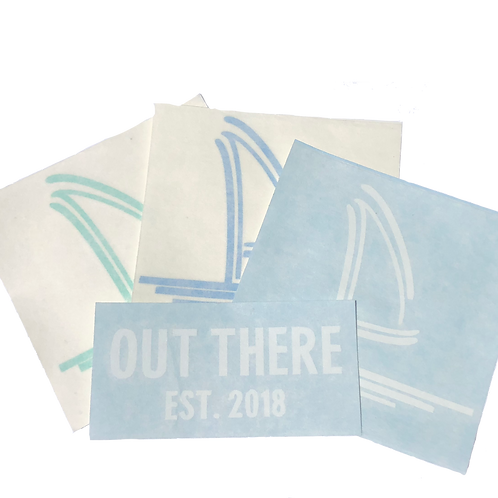 Out There Decal Pack