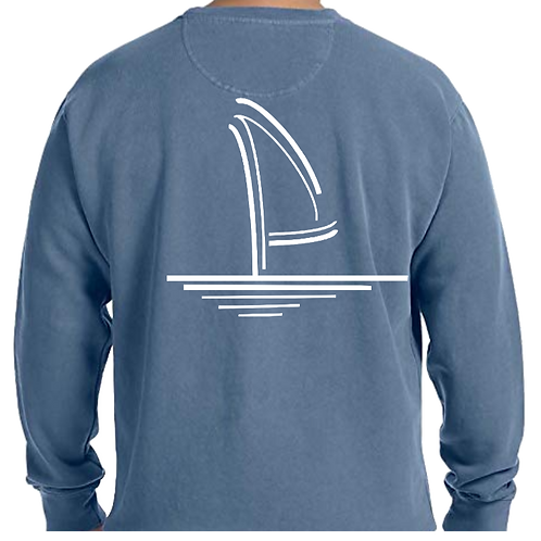 Crewneck Sweatshirt - Washed Blue