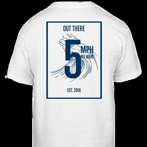 5MPH No Wake Classic T-Shirt