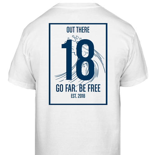 Go Far. Be Free. '18 Classic T-Shirt